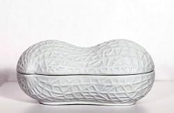 Porcelain Peanut Nut Case