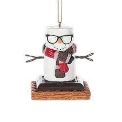 S'mores Hipster Ornament