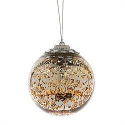 LED Ball Ornament Gold