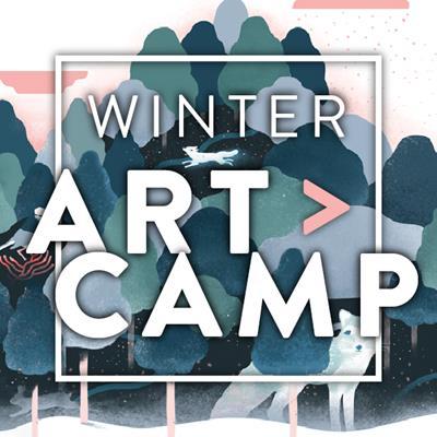 ALL 8 DAYS OF WINTER ART CAMP GRADES 1-4