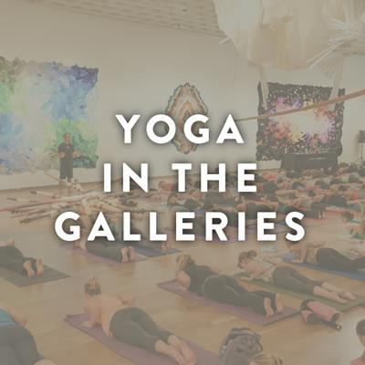 Yoga in the Galleries - May 3