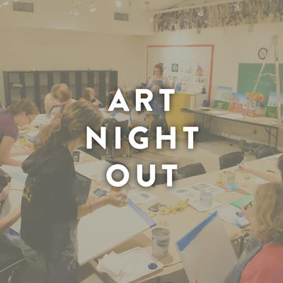 Art Night Out – Distortion Painting