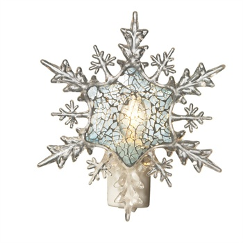 Snowflake Mosaic Night Light,101001