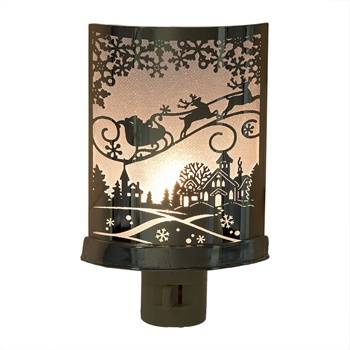 Santa in Sleigh Night Light,127605