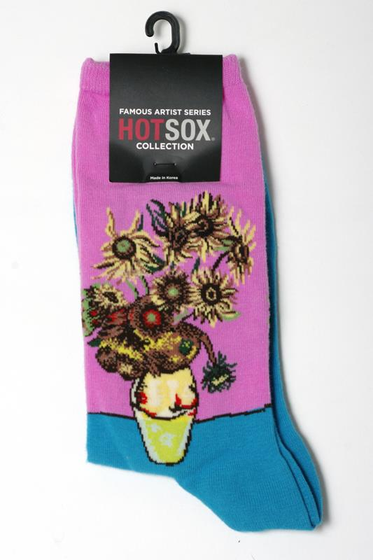 Women's Sunflowers Sock,HC000078